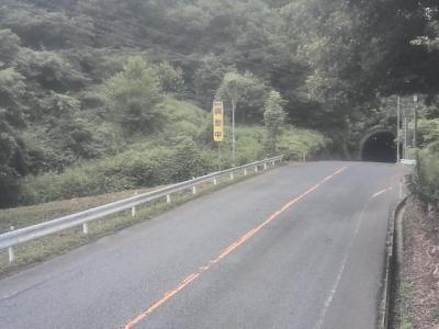虫木トンネル益田側出口前